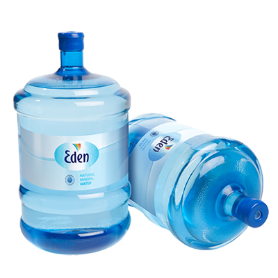 Botellas de Agua Mineral de 19L Agua Eden
