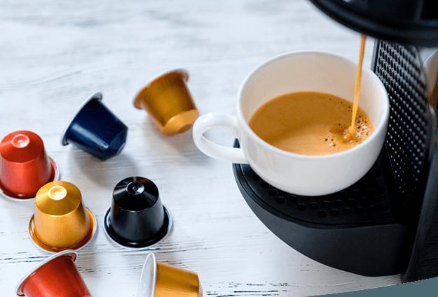 Máquinas de café en cápsulas para empresas