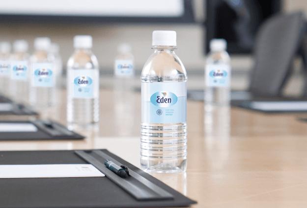 Botellines de agua para oficinas